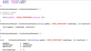 Metatrader Development with Classes